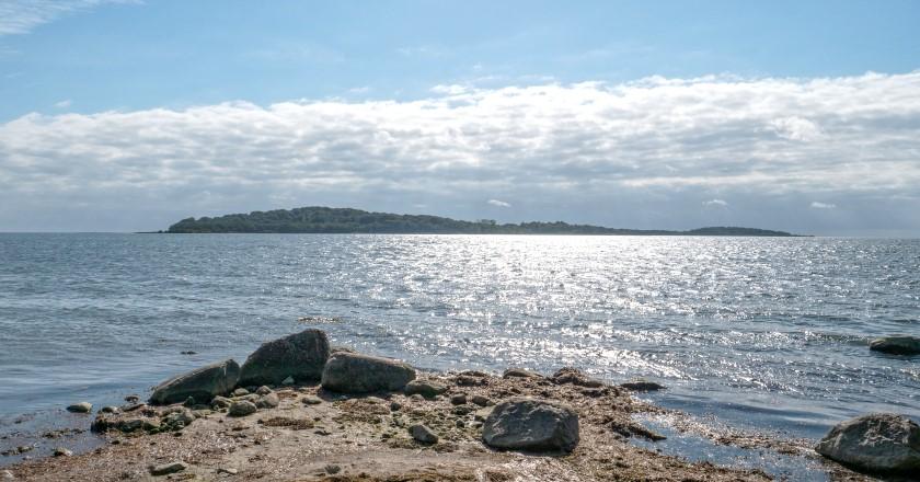Lauterbach - Blick zur Insel Vilm