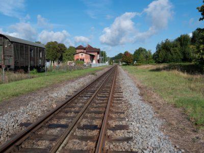 Start am Bahnhof Lauterbach