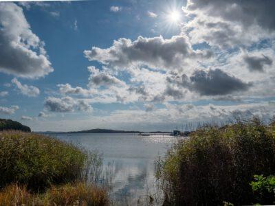 Blick zur Insel Vilm