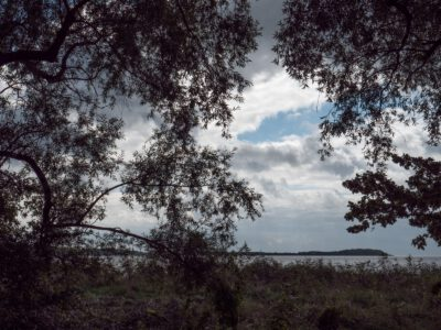 Durchblick zur Insel Vilm