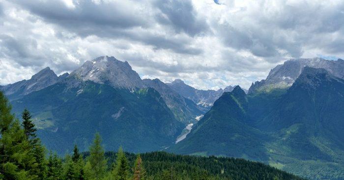 Blick in das Wimbachtal vom Hirscheck