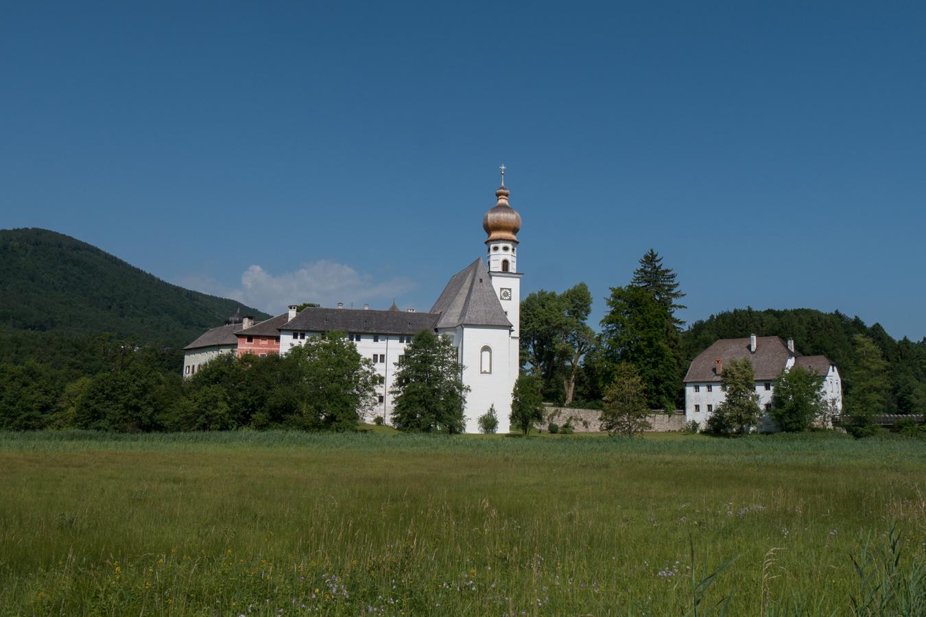 Start am Kloster Höglwörth