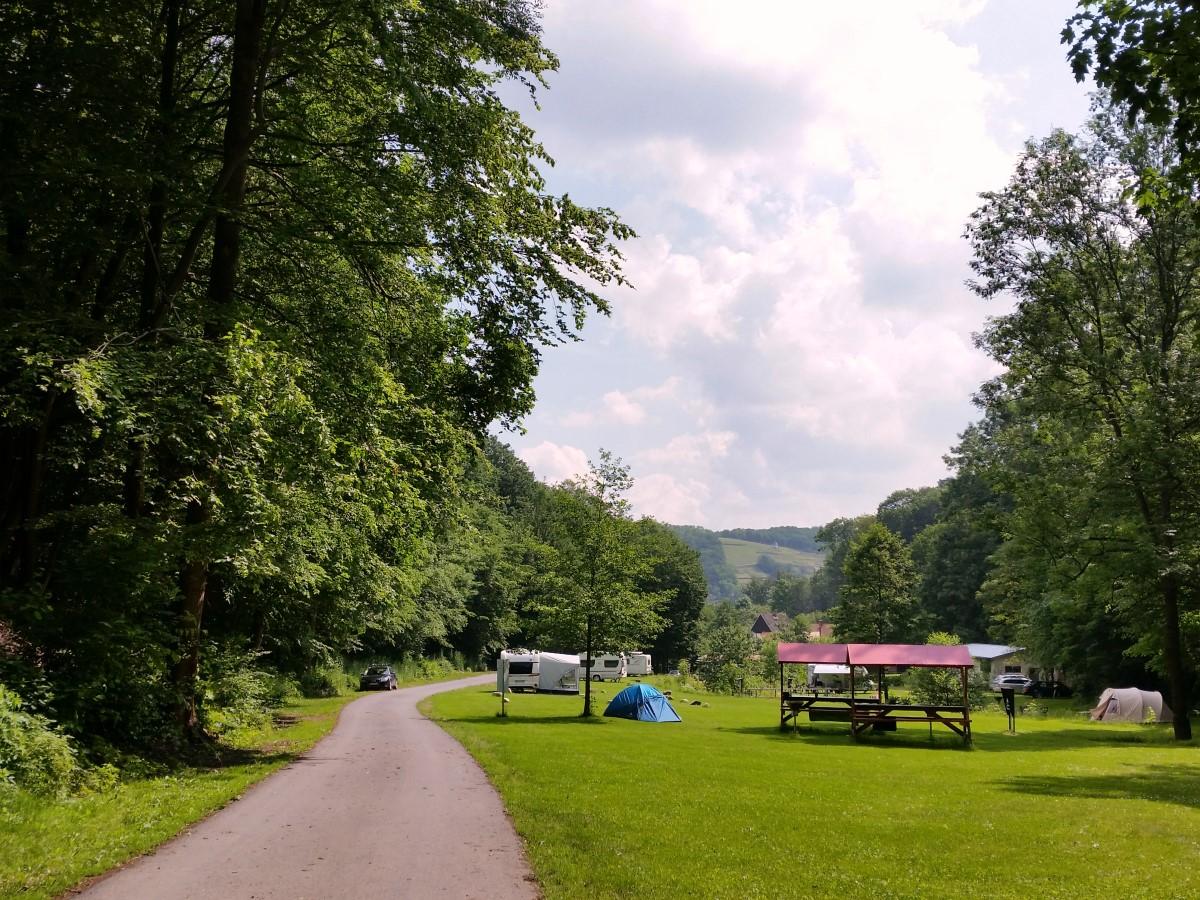 Start am Campingplatz im Rehbocktal