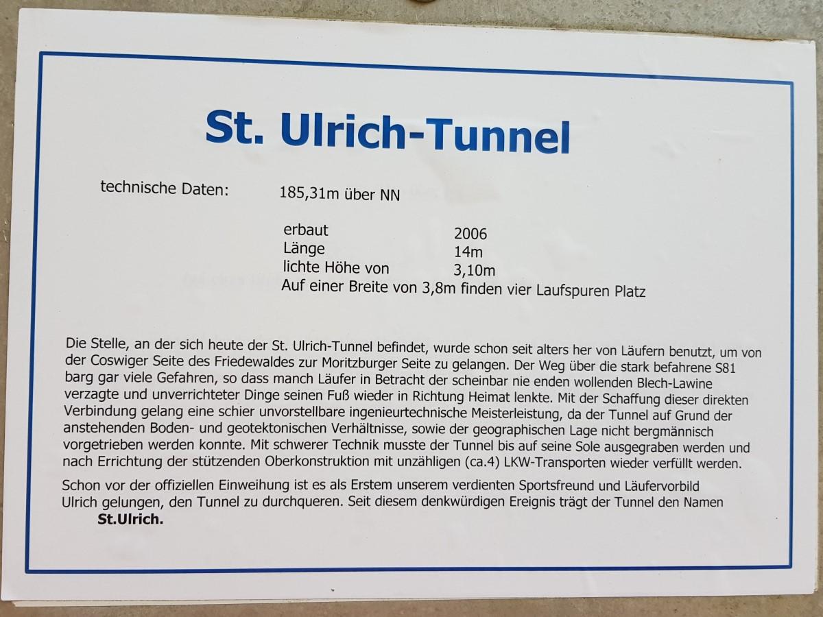 Infos zum St. Ulrich-Tunnel