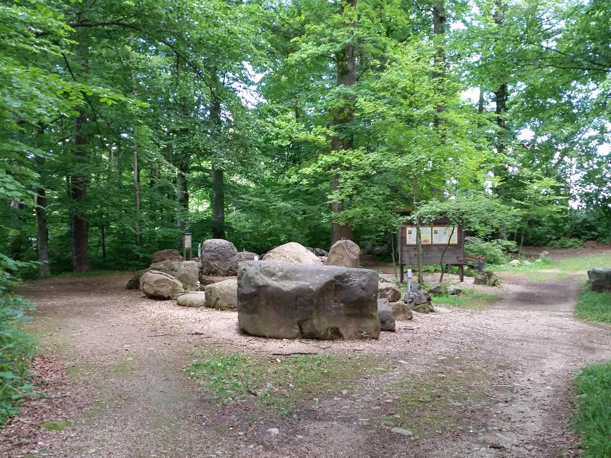 Im Geopark Teisendorf