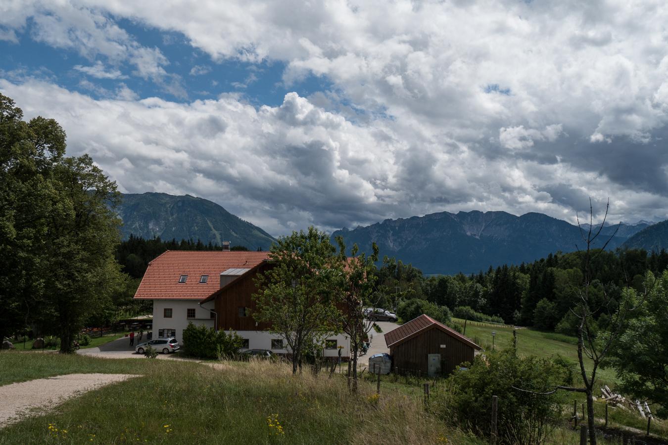Der Berggasthof Johannishögl