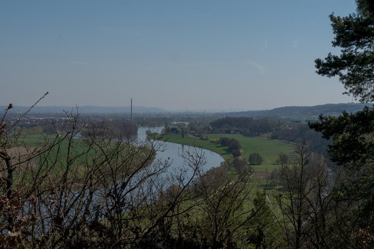 Blick Richtung Dresden