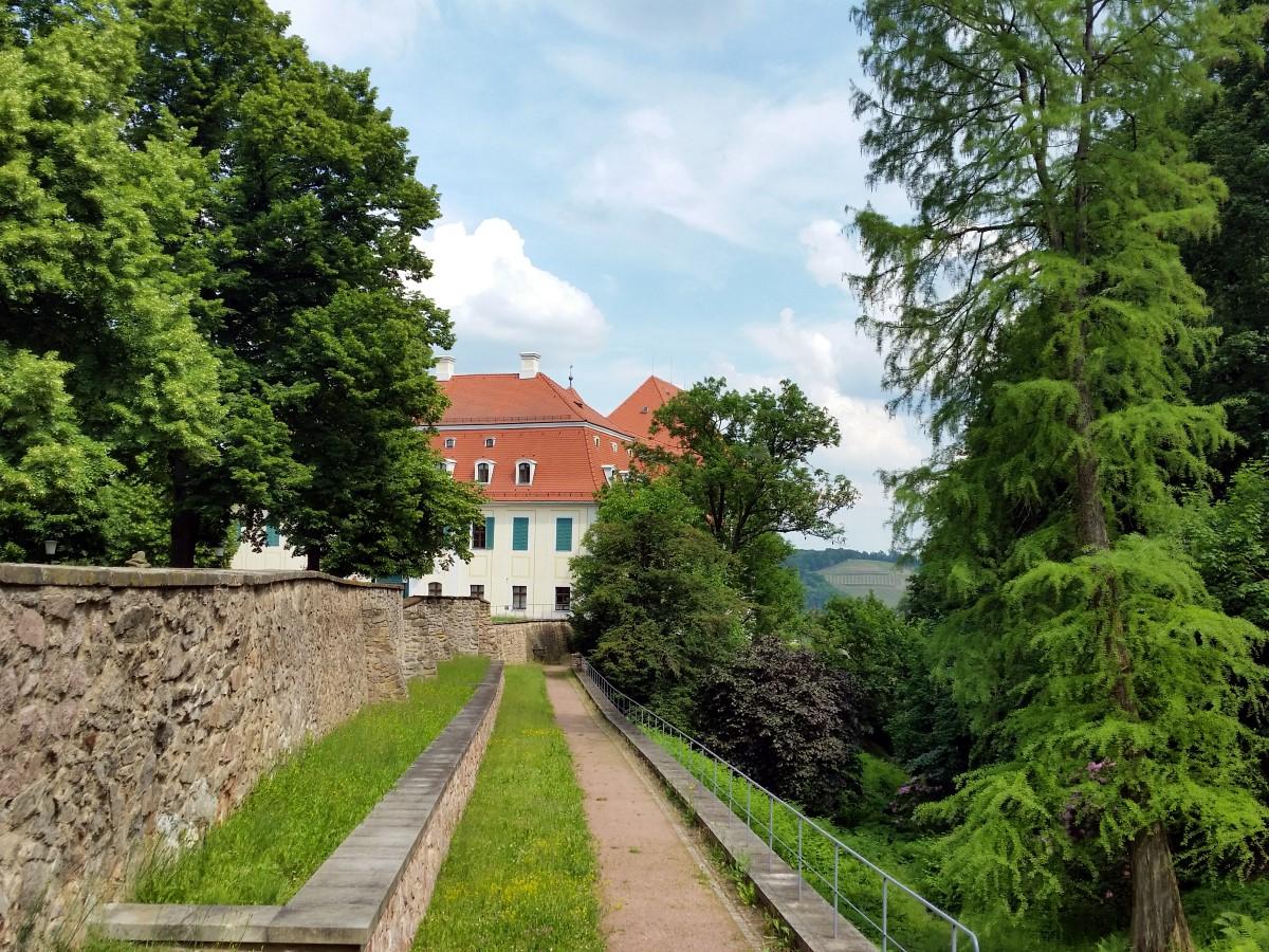 Am Schloss Siebeneichen