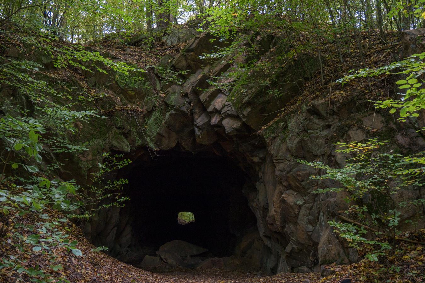 Am Tunnel unter der Hohburg
