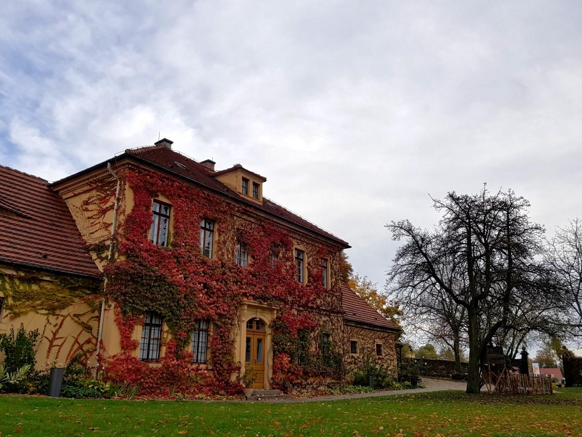 Das herbstliche Kavalierhaus