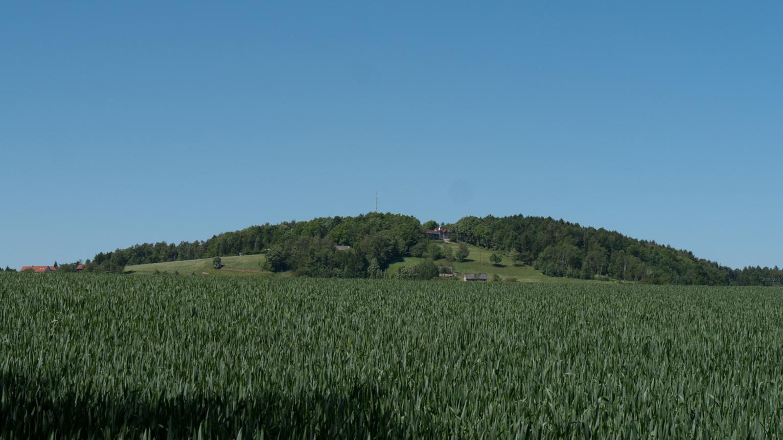 Blick zum Schwedenstein