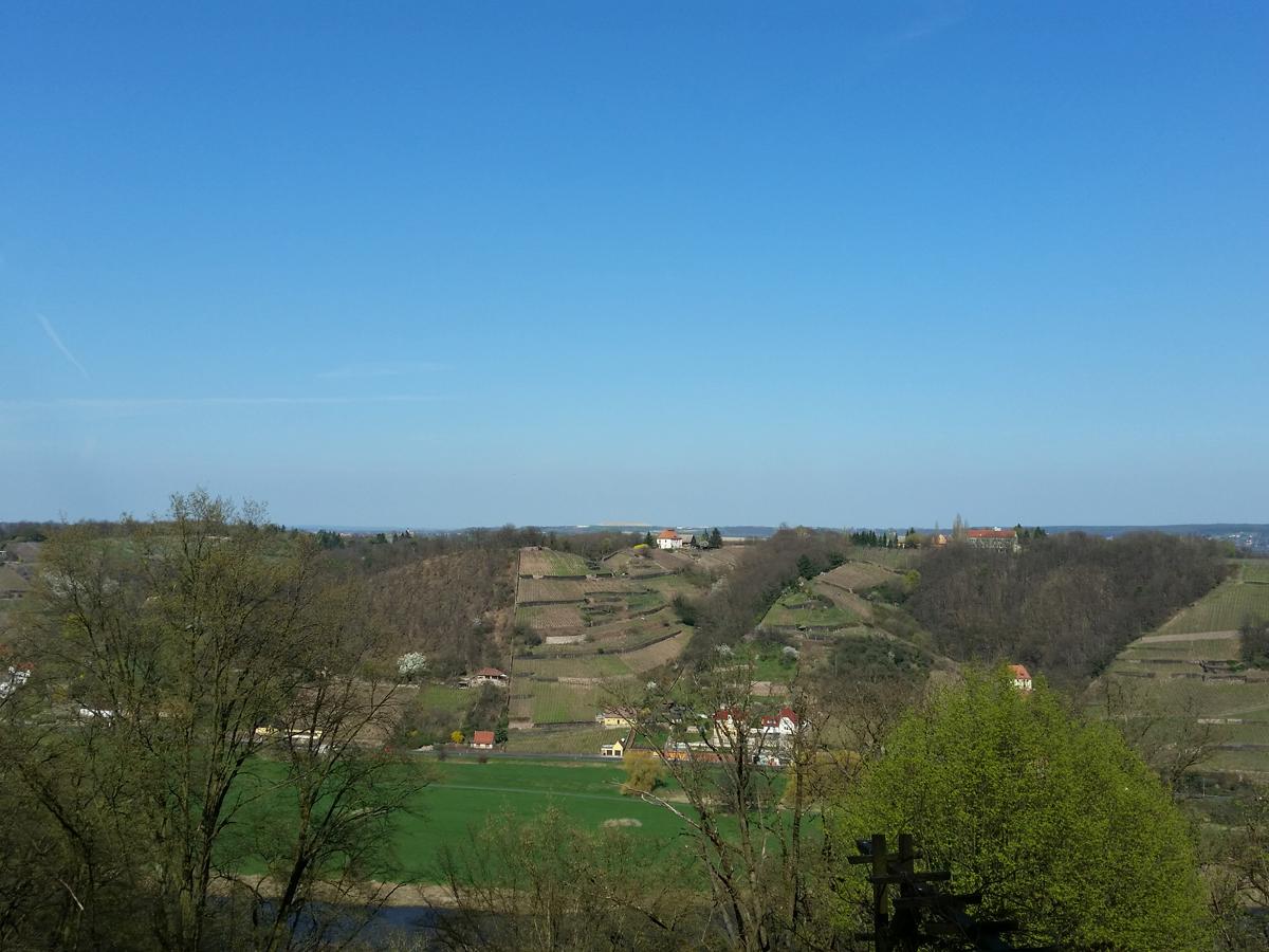 Blick zum Spaargebirge