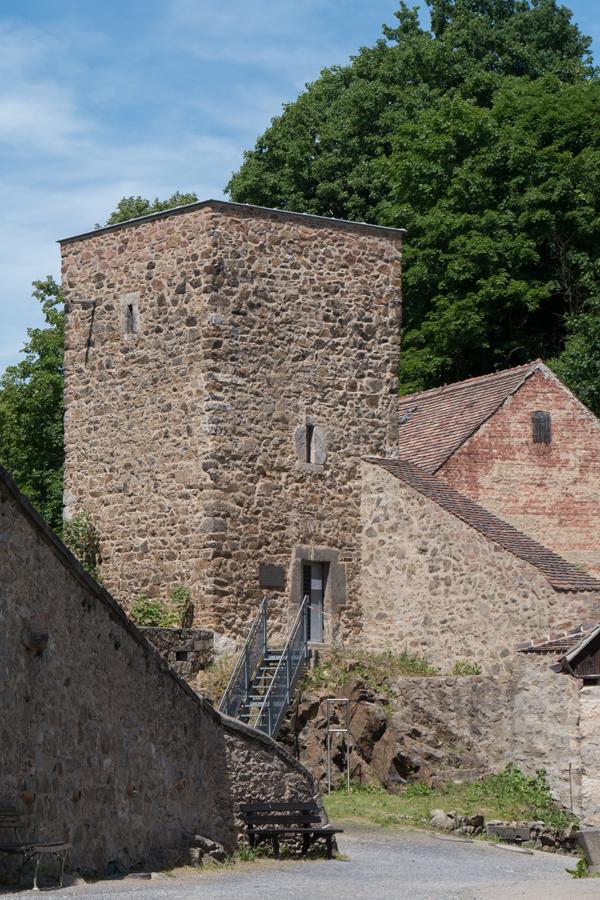 Der Eulenturm in der Schlossanlage