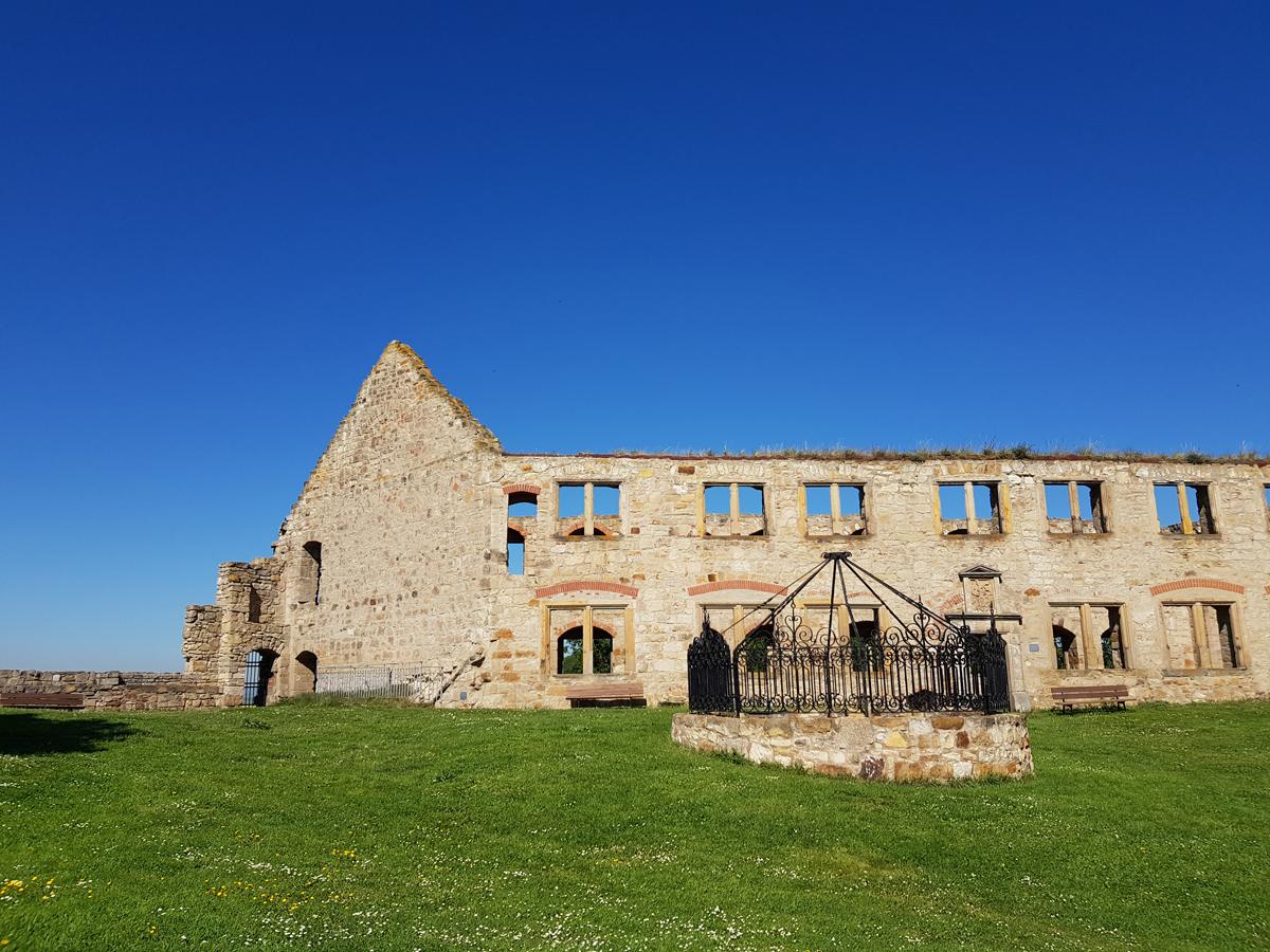 Herrenhaus auf der Burg Gleichen