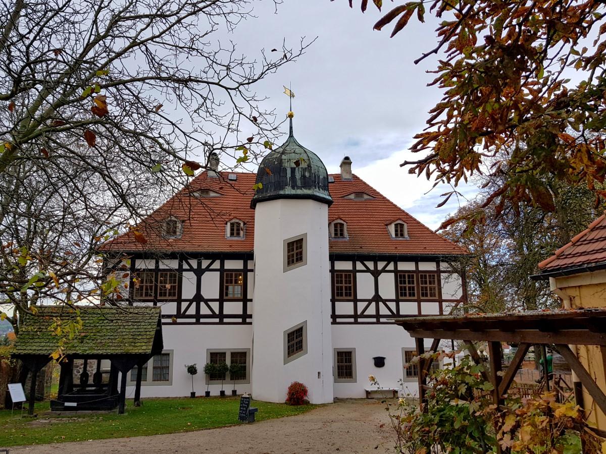 Berg- und Lustschloss von Norden