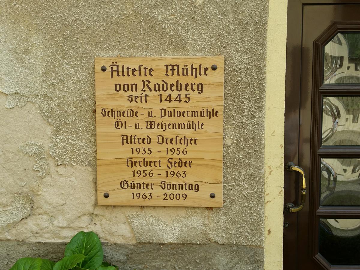 An der Schlossmühle Radeberg