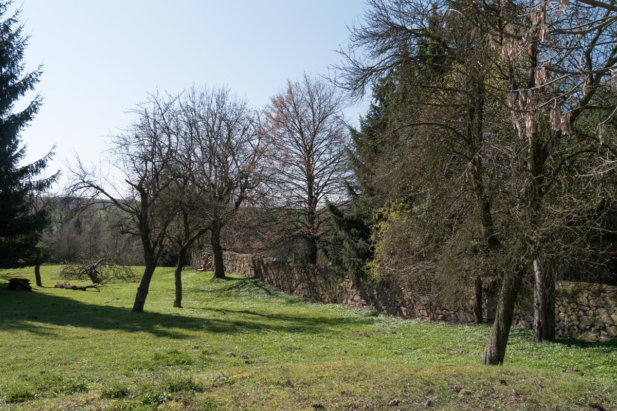 Landschaftsansicht in Batzdorf