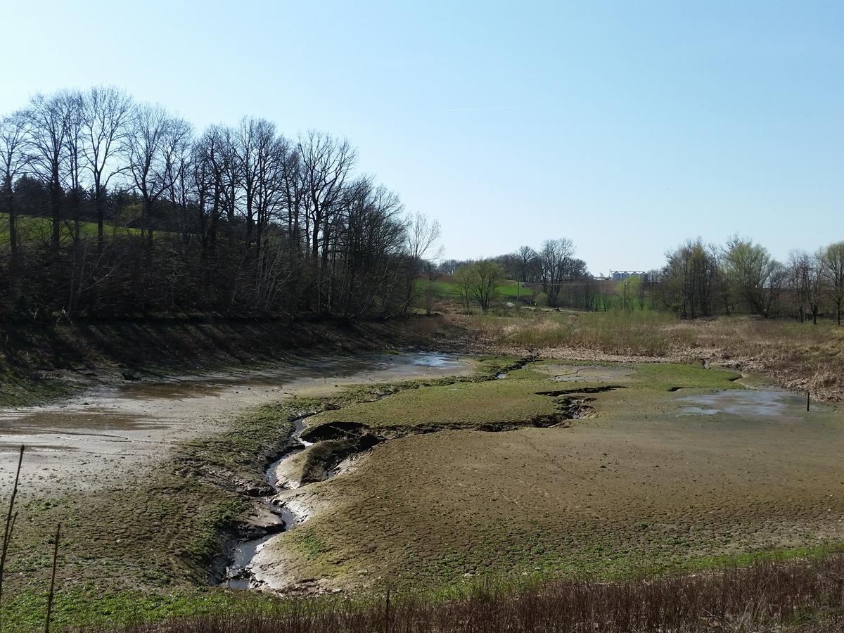 Stauanlage am Riemsdorfer Wasser