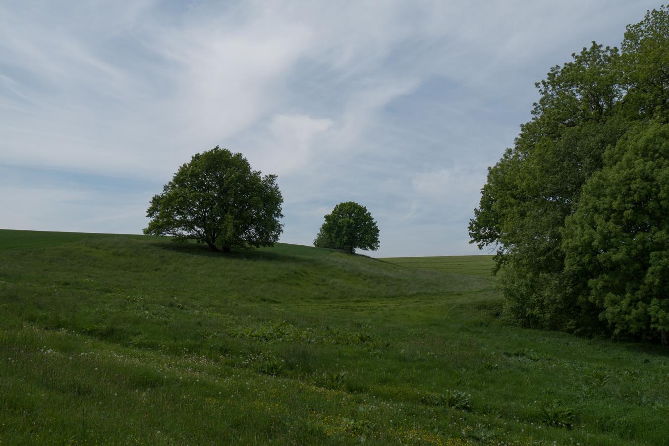 Landschaft an der Gävernitze