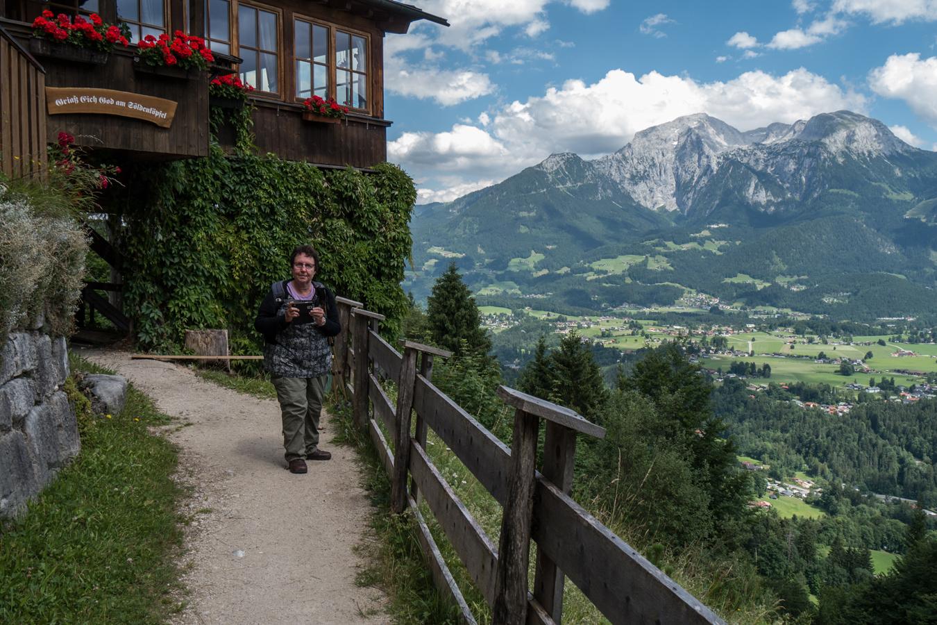 An der Berggaststätte Söldenköpfl