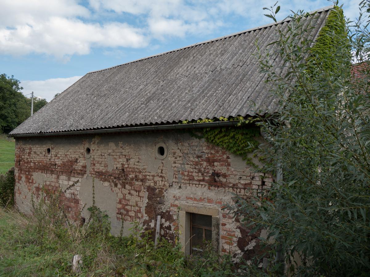 Gebäude der Pinkowitzer Mühle