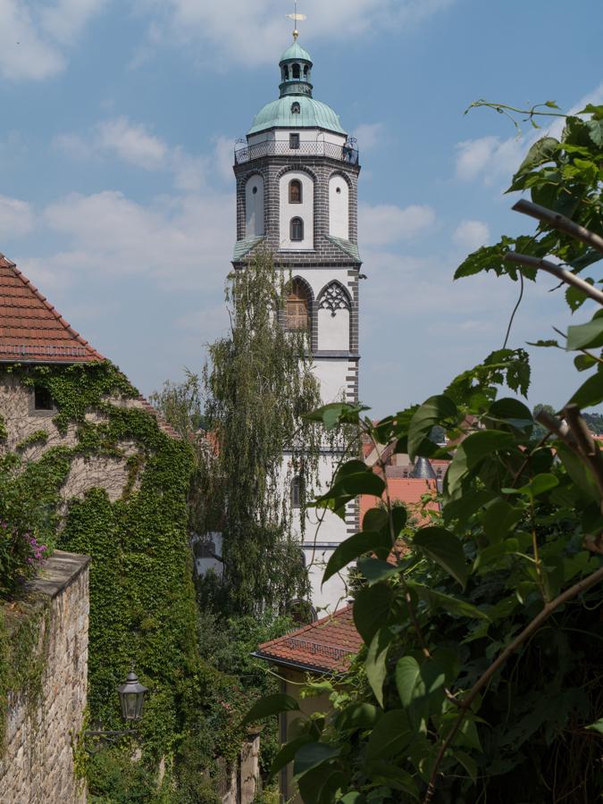 Ein Blick zur Frauenkirche