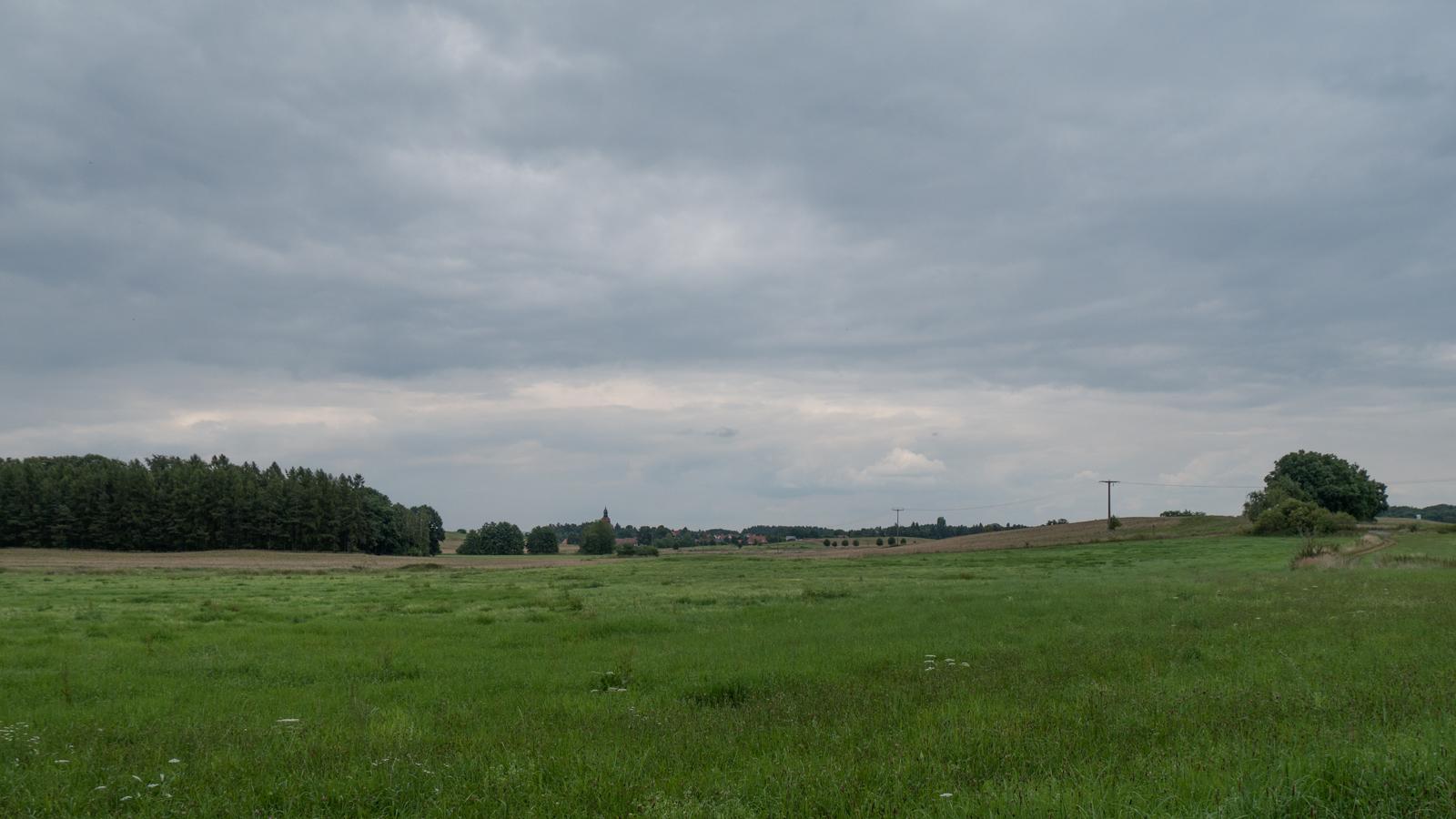 Moritzburg in Sicht