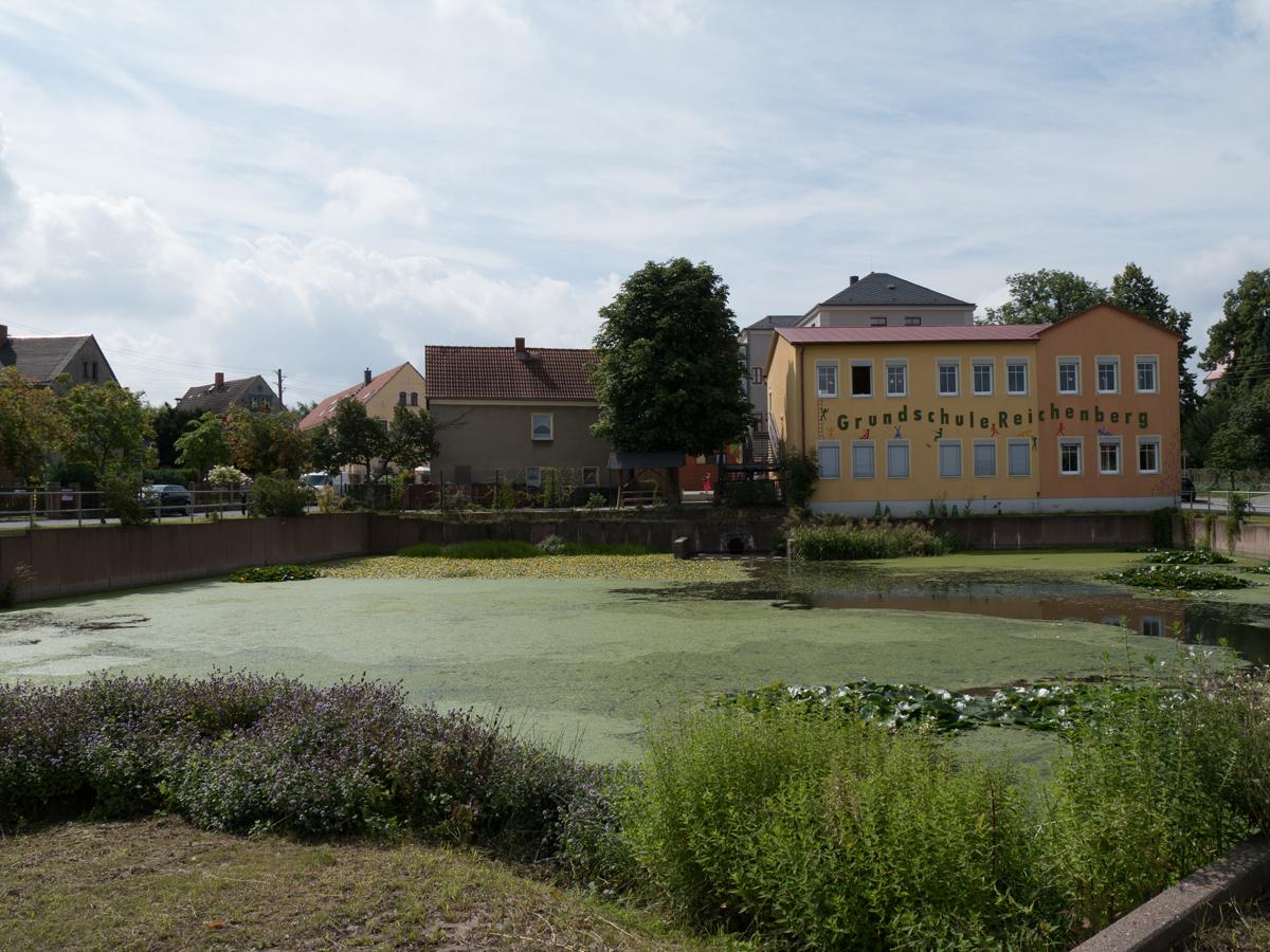 An der Grundschule in Reichenberg
