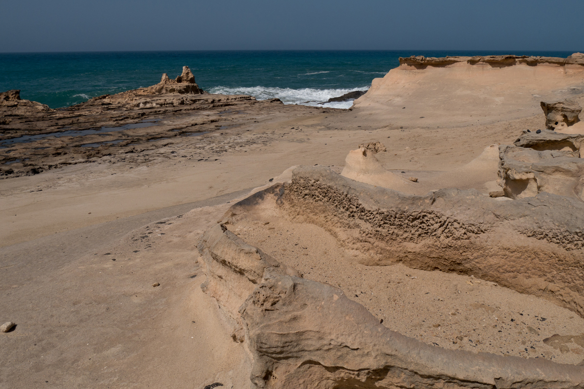 Küstenansicht bei Los Boquetes