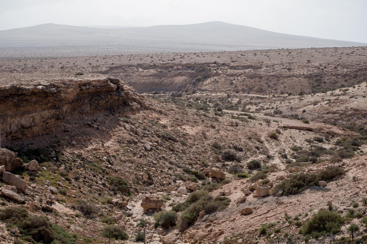 Am Beginn der Cañada del Río