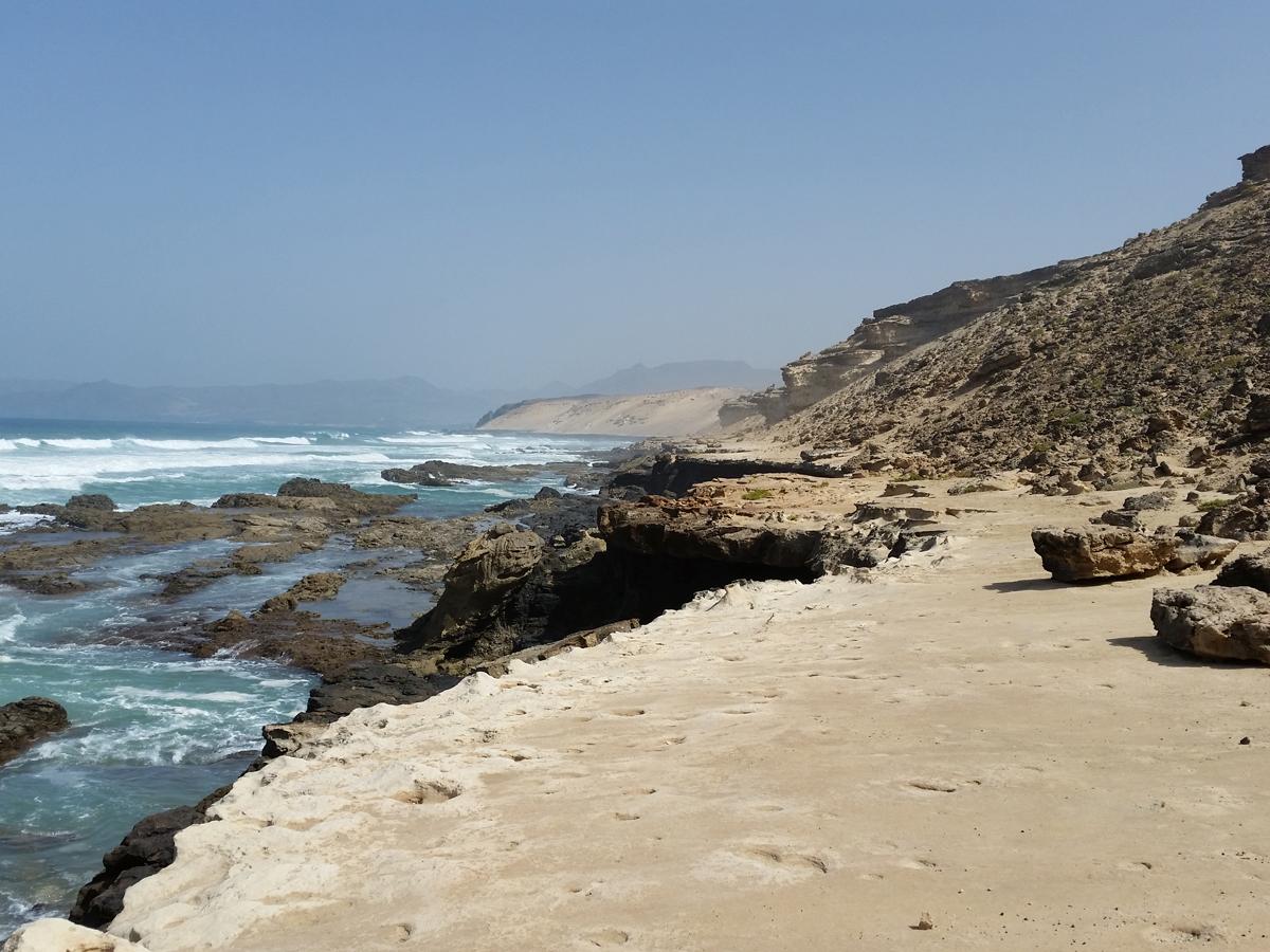 Küstenansicht bei Agua Liques