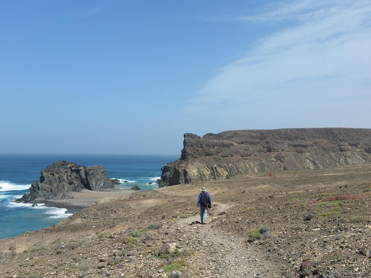 Das Wanderziel, die Peña Horadada, ist bald erreicht.
