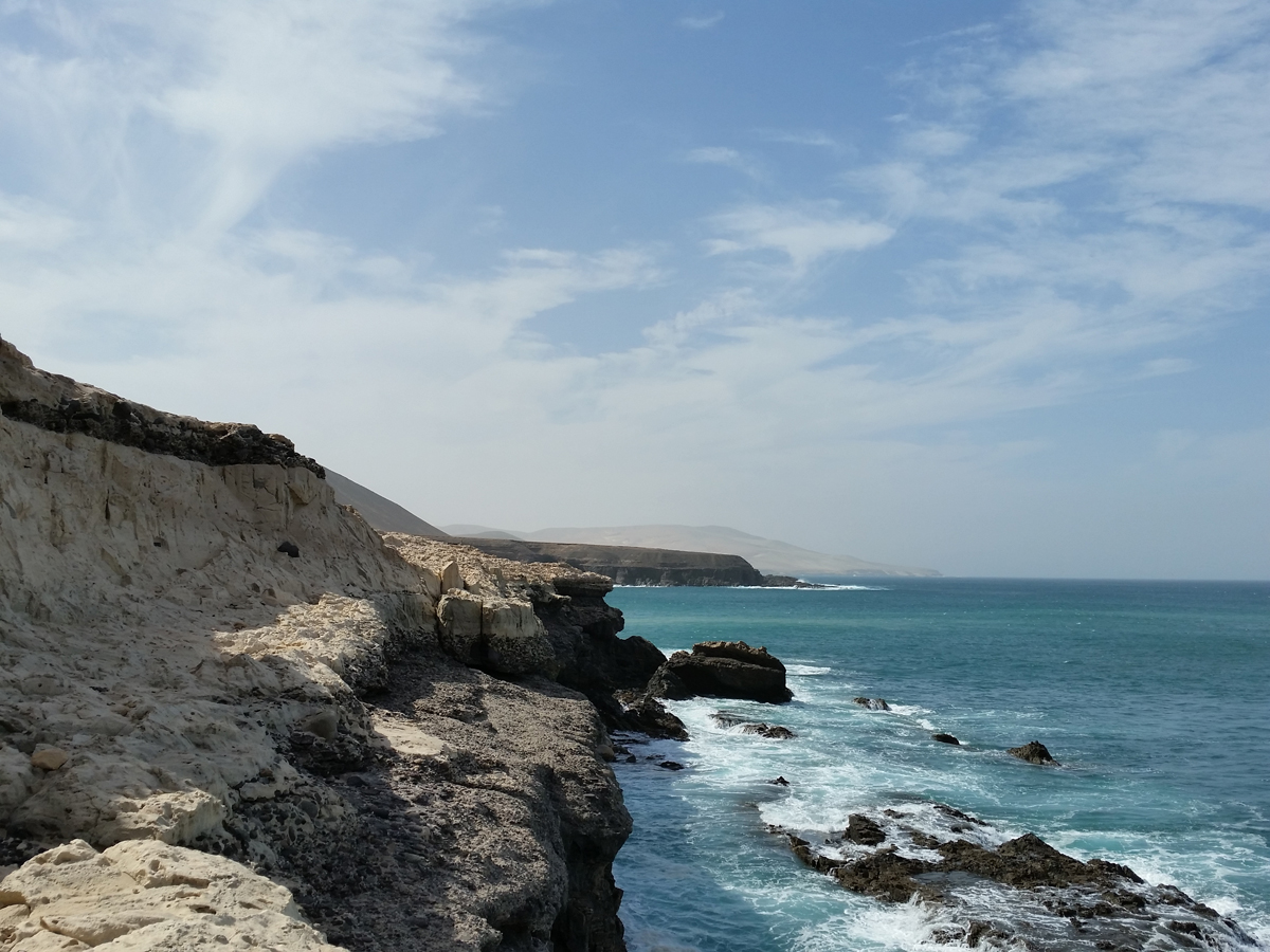 Küstenblick von den Kalköfen