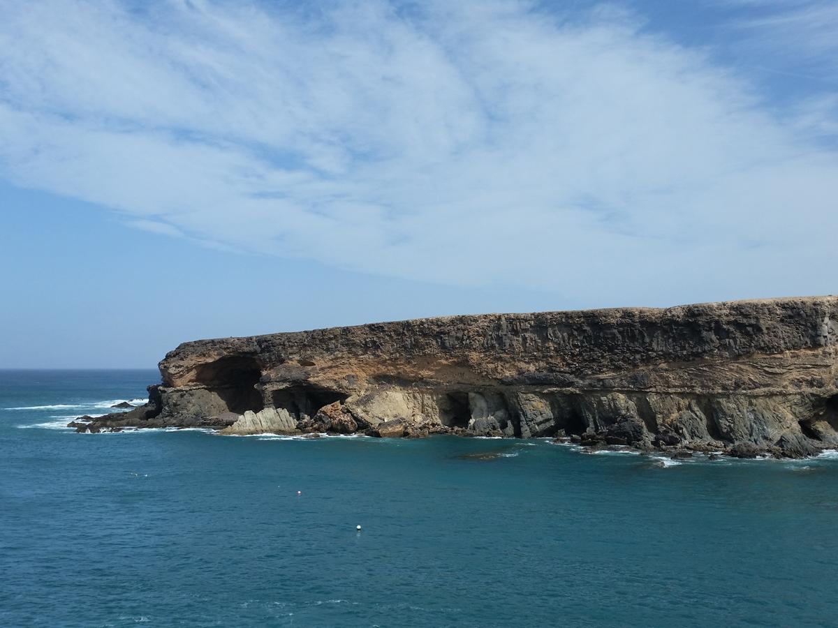 Blick zur Bucht von Caleta Negra