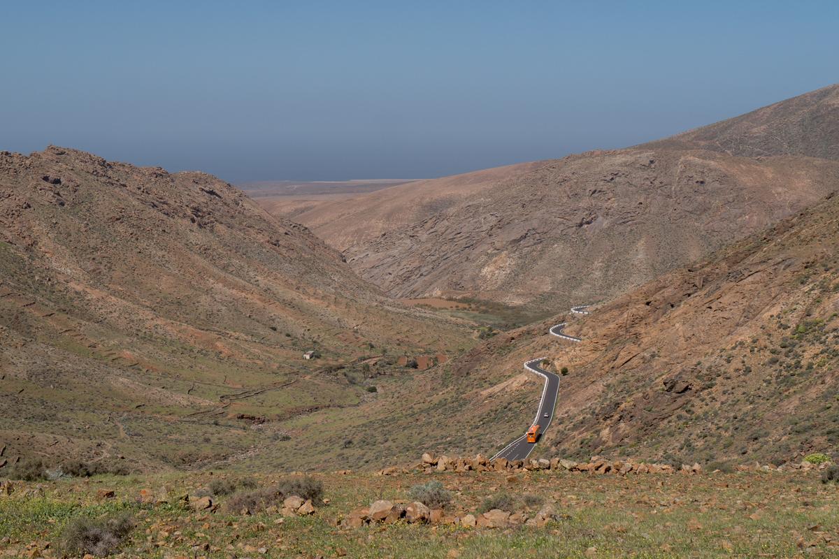 Blick in das Valle de los Granadillos