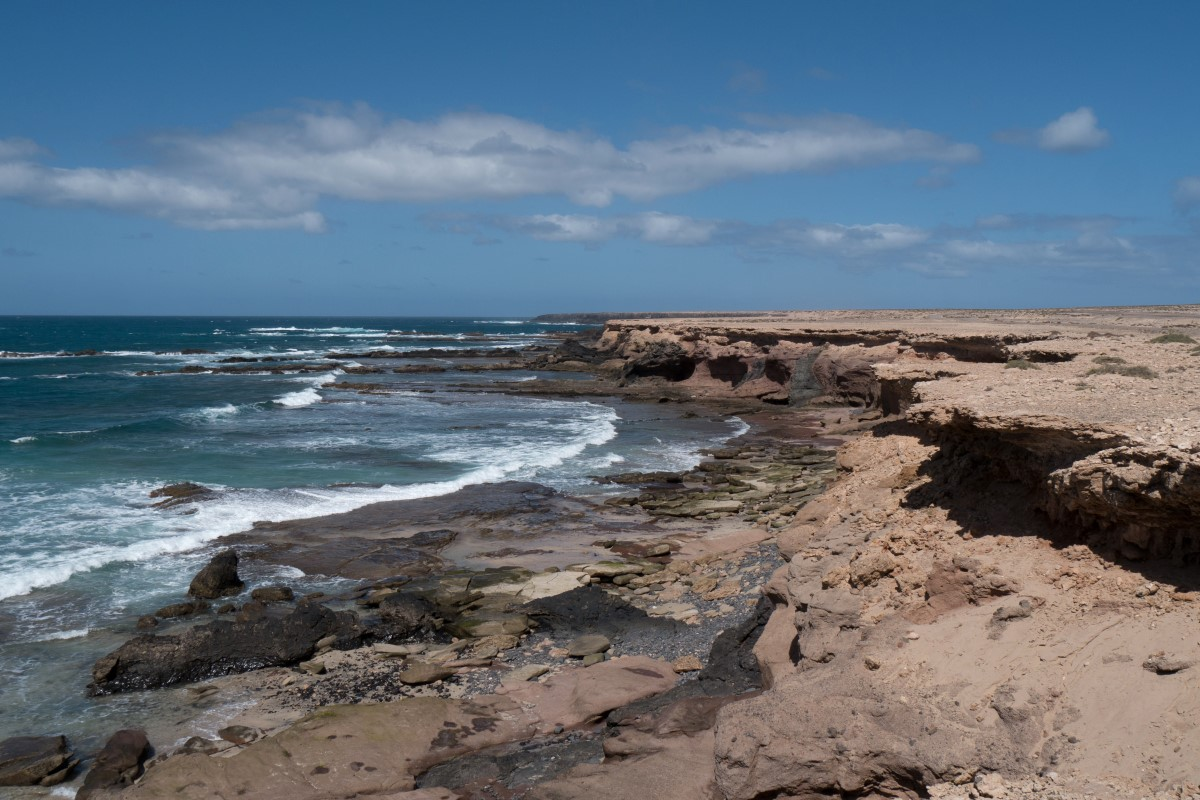 An der Westküste der Halbinsel Jandía