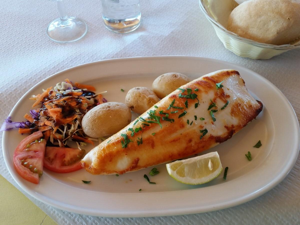 Leckerer Tintenfisch im Bahia La Pared