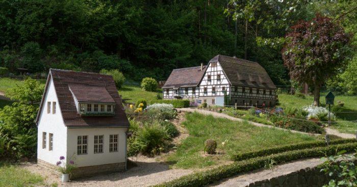 An der Schulze-Mühle im Gauernitzbachtal