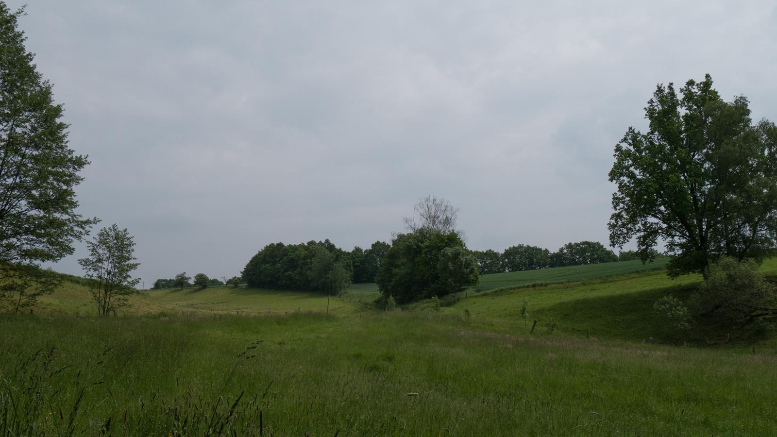 Landschaft am Eselsweg
