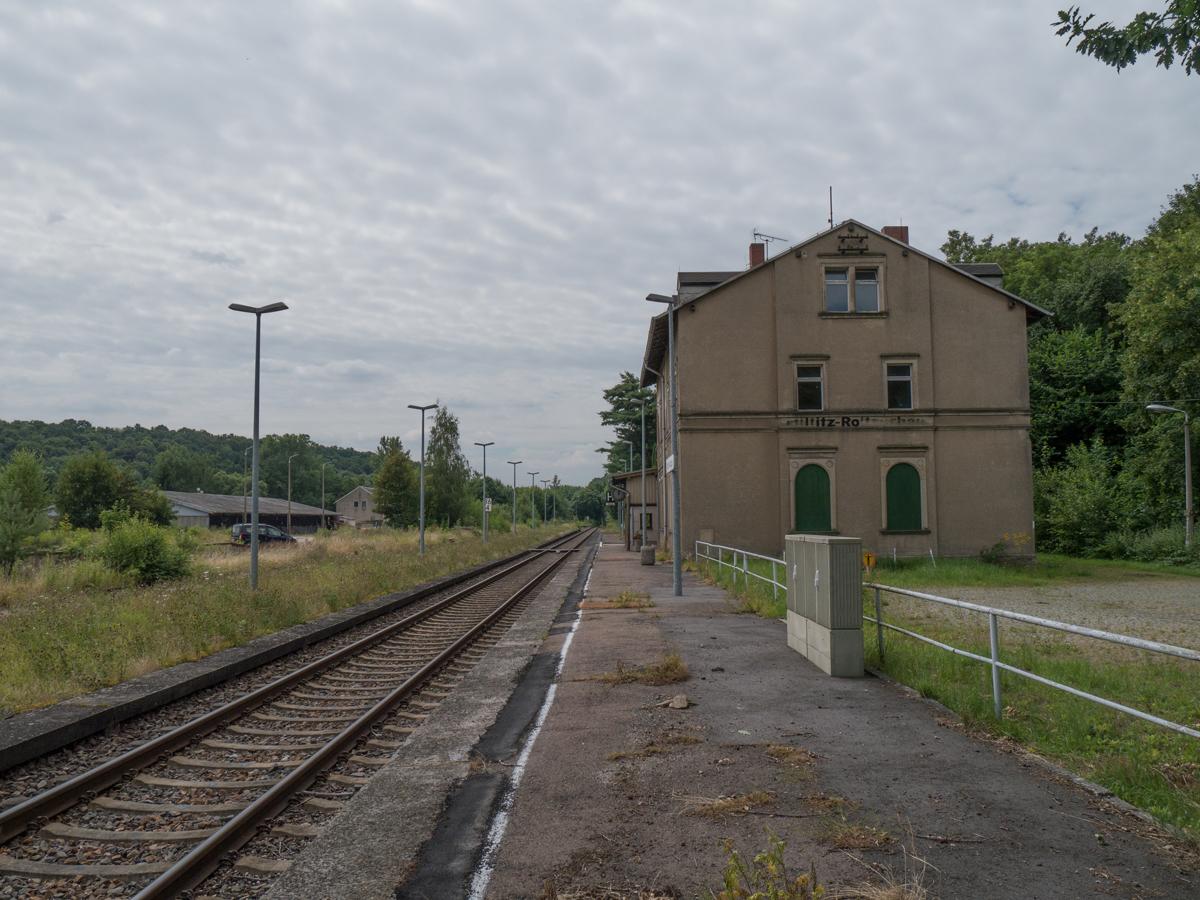 Verlassener Bahnhof Miltitz-Roitzschen