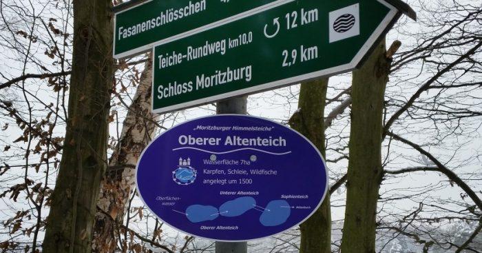 Schilder - aktuell am Altenteich