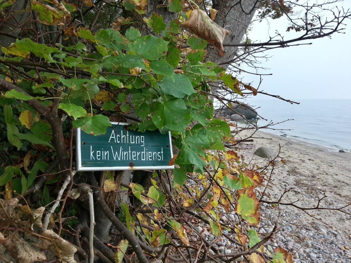 Am Nonnenloch auf der Insel Rügen