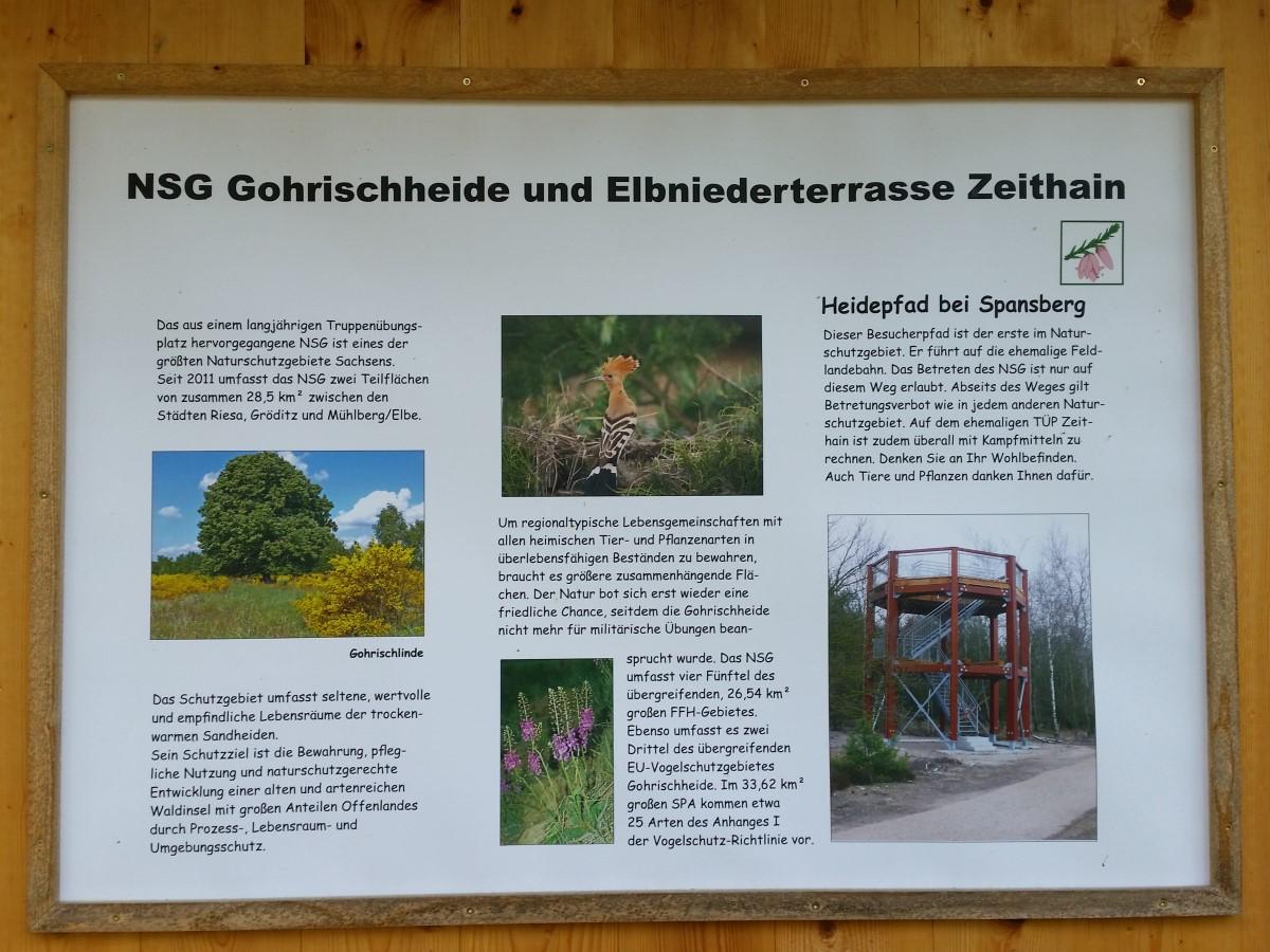 Informationen zum NSG Gohrischheide