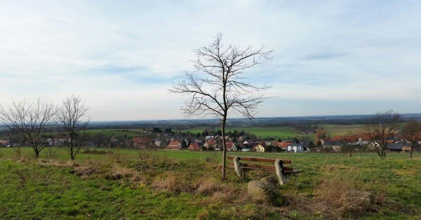 Blick vom Steinberg über Seifersdorf