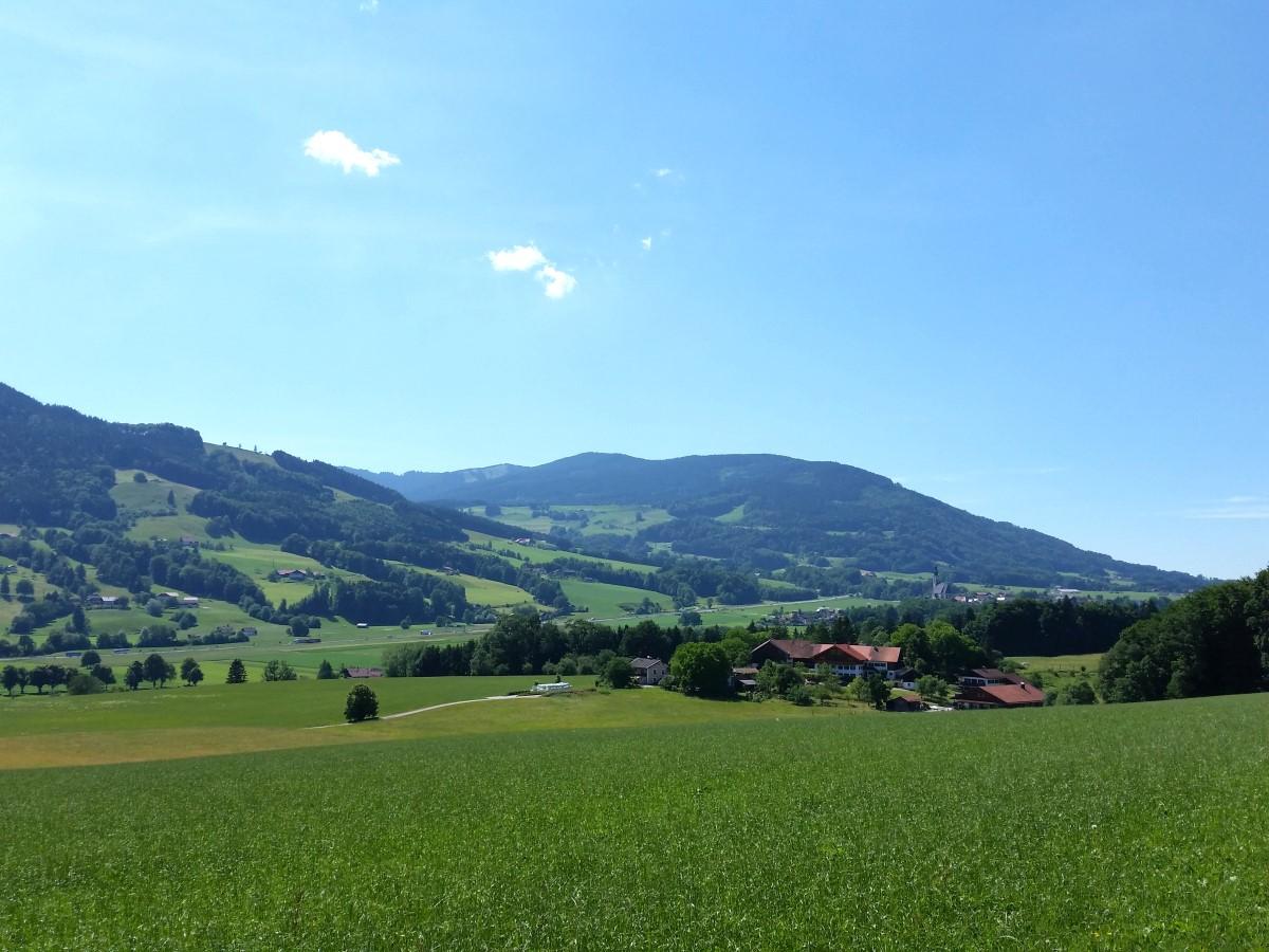 Kurz vor Moosbacherau