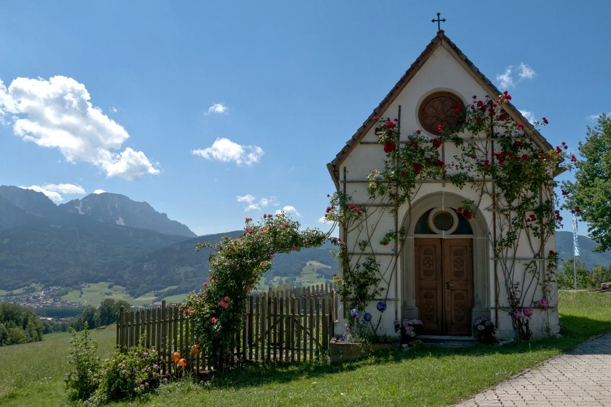 Kapelle auf der Stroblalm