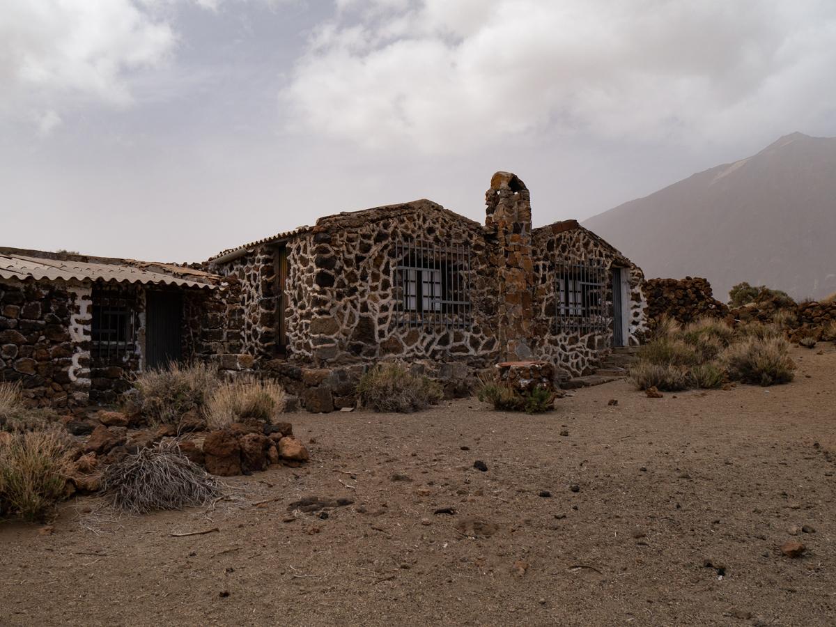 Ein Gebäude des ehemaligen Sanatoriums