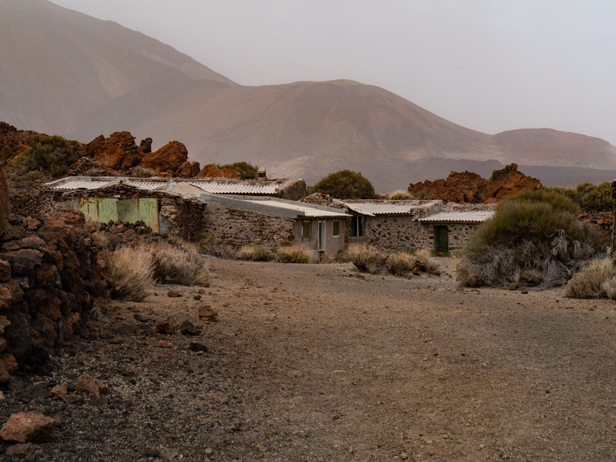 Blick über das Sanatorio zum Teidefuß