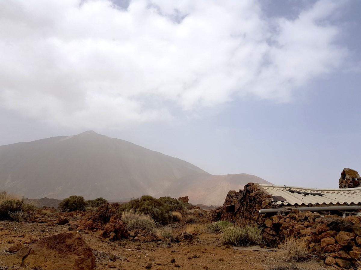 Blick vom Sanatorio zum Teide