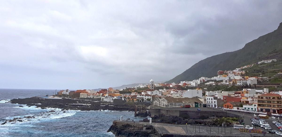 Blick vom Mirador del Emigrante auf Garachico